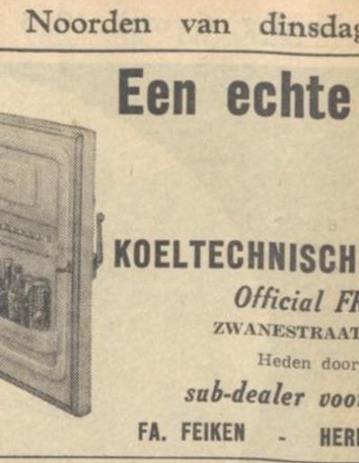 nieuwsblad van het noorden 1956