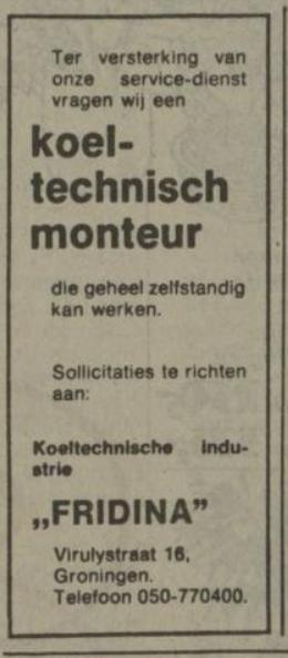 nieuwsblad van het noorden 1976